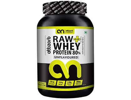 Abbzorb Nutrition Raw plus Whey Protein 80%