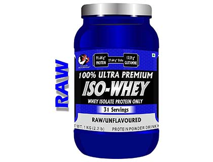 Advance MuscleMass Raw Whey Protein