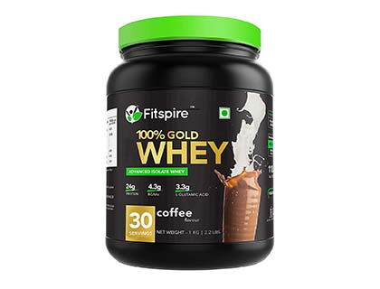 Fitspire Whey Gold standard 100% Whey Protein Isolate