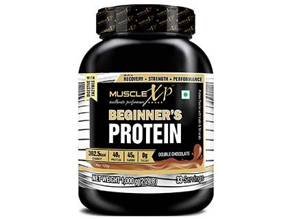MuscleXP Beginner's Protein With Digestive Enzymes