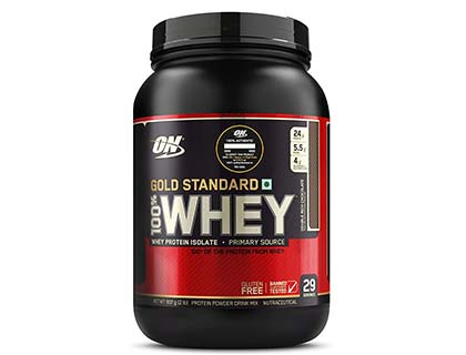 Optimum Nutrition (ON) Gold Standard 100% Whey Protein